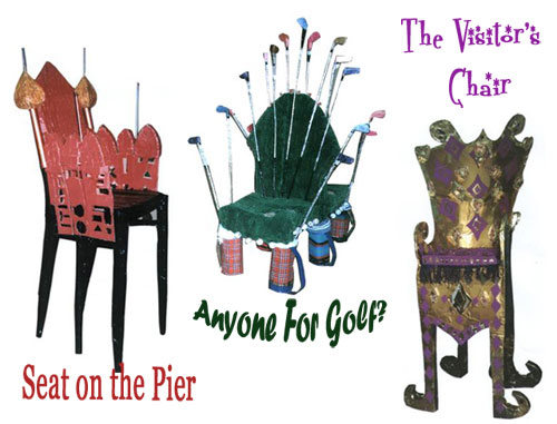 Seat on the Pier, Anyone for Golf, The Visitor's Chair